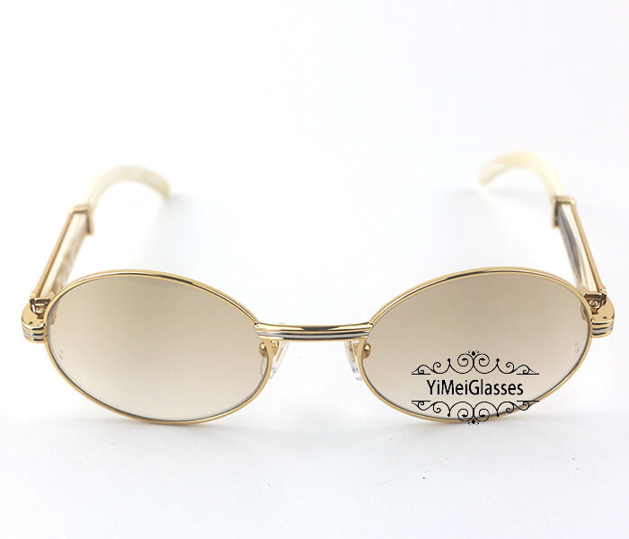 Cartier Buffalo Horn Full Frame Classic Sunglasses CT7550178-55插图(15)