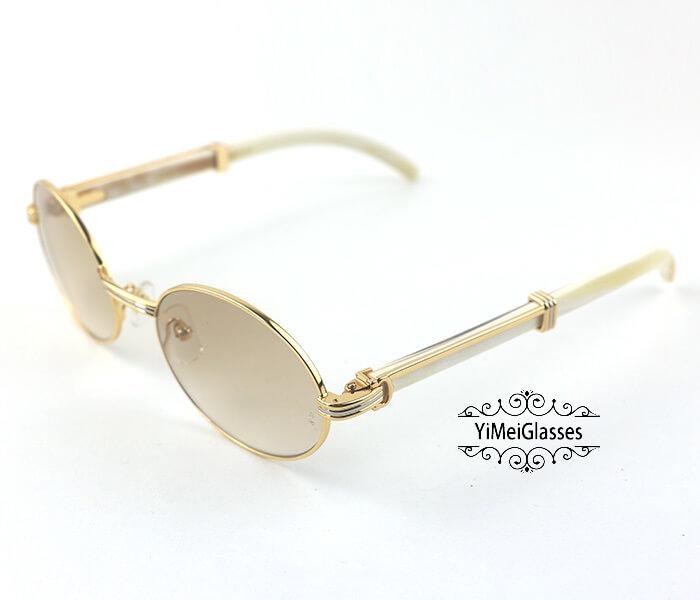 Cartier Buffalo Horn Full Frame Classic Sunglasses CT7550178-55插图(16)