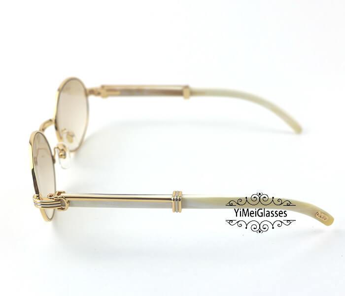 Cartier Buffalo Horn Full Frame Classic Sunglasses CT7550178-55插图(17)