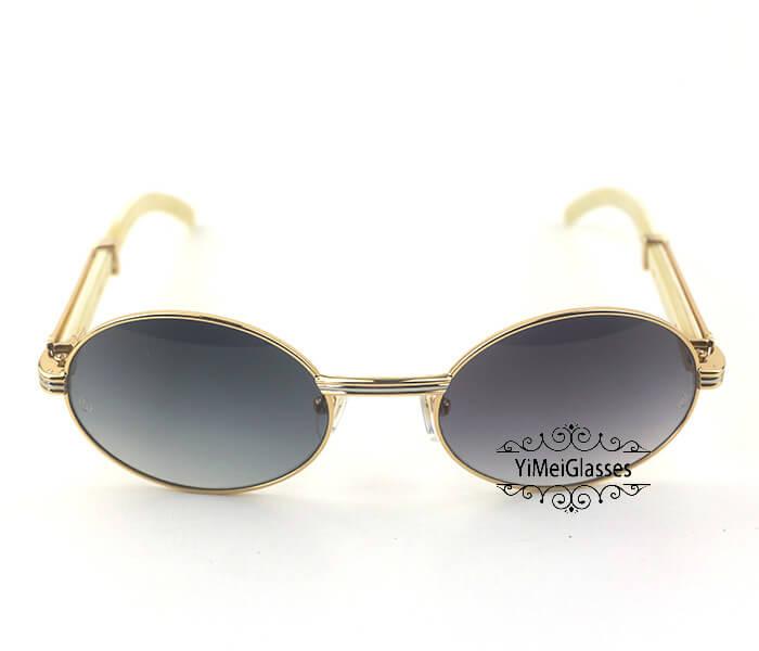Cartier Buffalo Horn Full Frame Classic Sunglasses CT7550178-55插图(19)