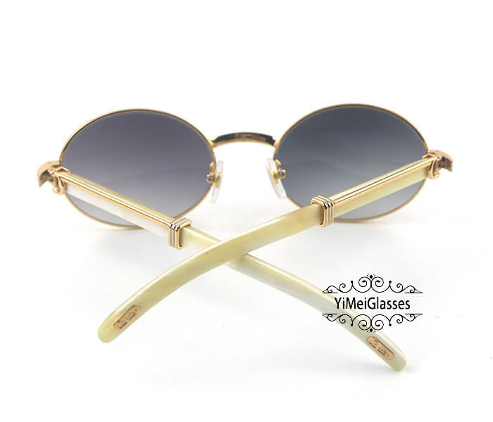 Cartier Buffalo Horn Full Frame Classic Sunglasses CT7550178-55插图(21)