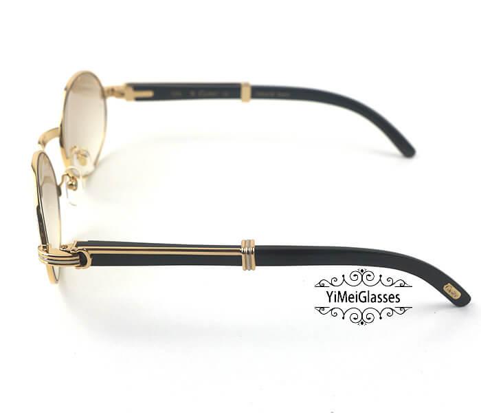 Cartier Buffalo Horn Full Frame Classic Sunglasses CT7550178-55插图(2)