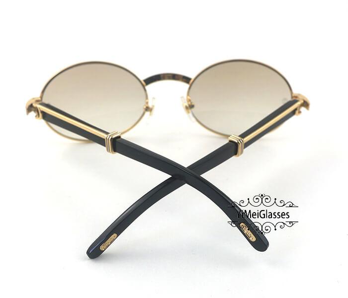 Cartier Buffalo Horn Full Frame Classic Sunglasses CT7550178-55插图(5)