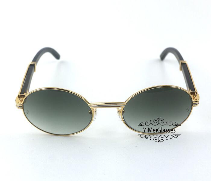 Cartier Buffalo Horn Full Frame Classic Sunglasses CT7550178-55插图(7)