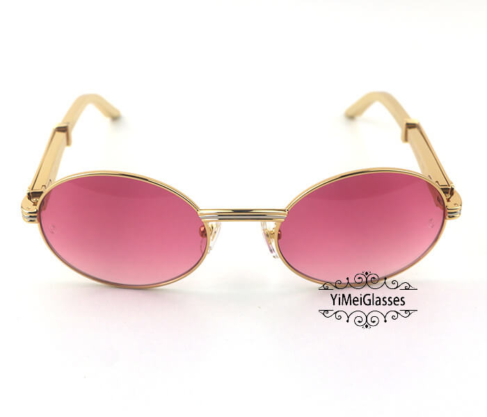 Cartier Stainless Steel Full Frame Classic Sunglasses CT7550178-55插图(11)