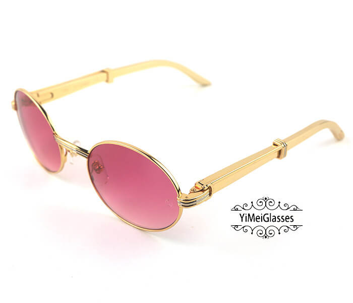 Cartier Stainless Steel Full Frame Classic Sunglasses CT7550178-55插图(12)