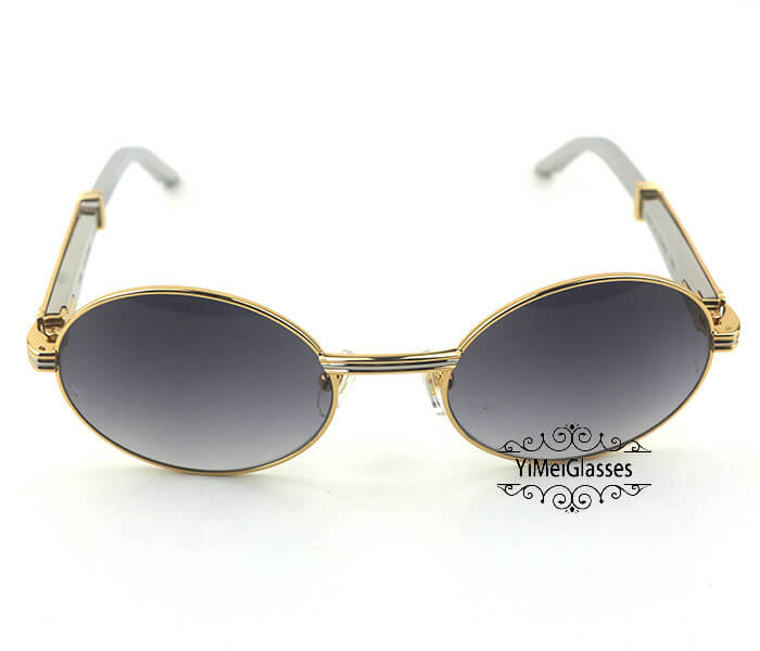Cartier Stainless Steel Full Frame Classic Sunglasses CT7550178-55插图(15)