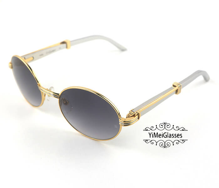 Cartier Stainless Steel Full Frame Classic Sunglasses CT7550178-55插图(16)