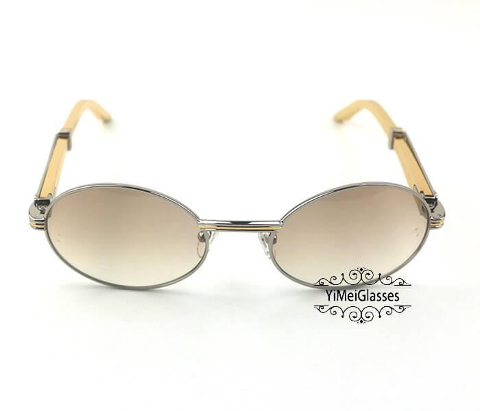 Cartier Stainless Steel Full Frame Classic Sunglasses CT7550178-55插图(25)