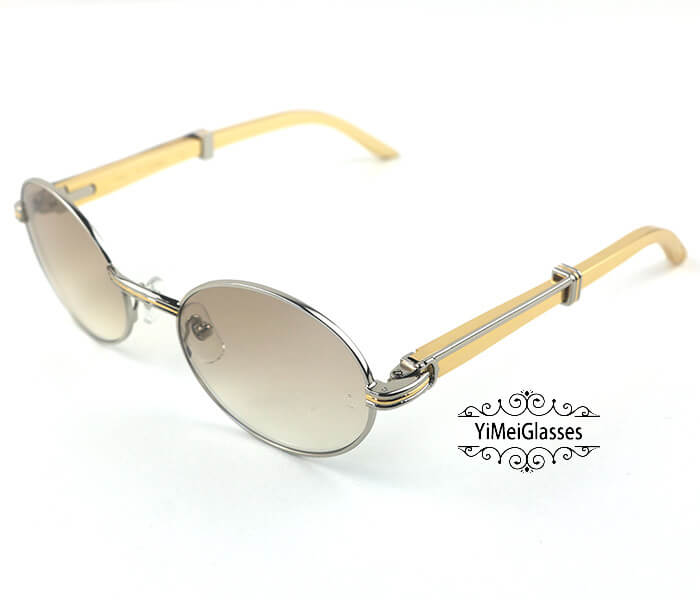 Cartier Stainless Steel Full Frame Classic Sunglasses CT7550178-55插图(26)