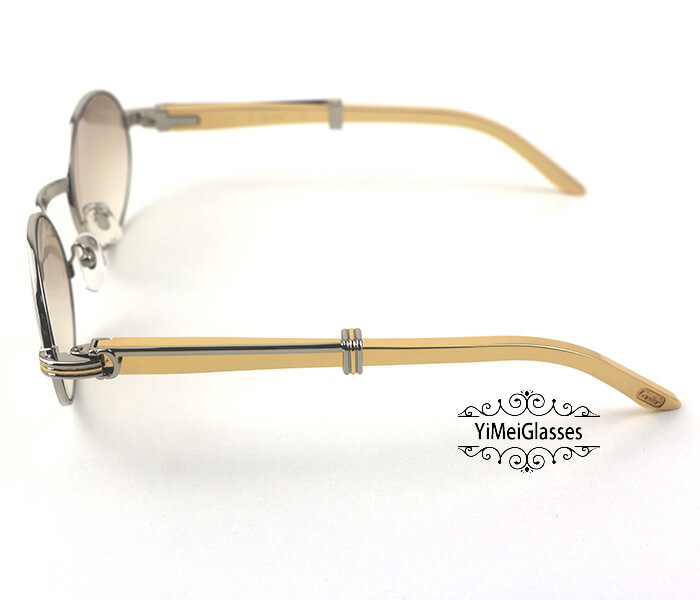 Cartier Stainless Steel Full Frame Classic Sunglasses CT7550178-55插图(27)