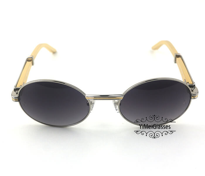 Cartier Stainless Steel Full Frame Classic Sunglasses CT7550178-55插图(29)