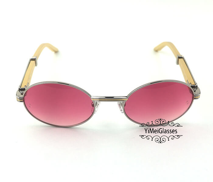 Cartier Stainless Steel Full Frame Classic Sunglasses CT7550178-55插图(33)
