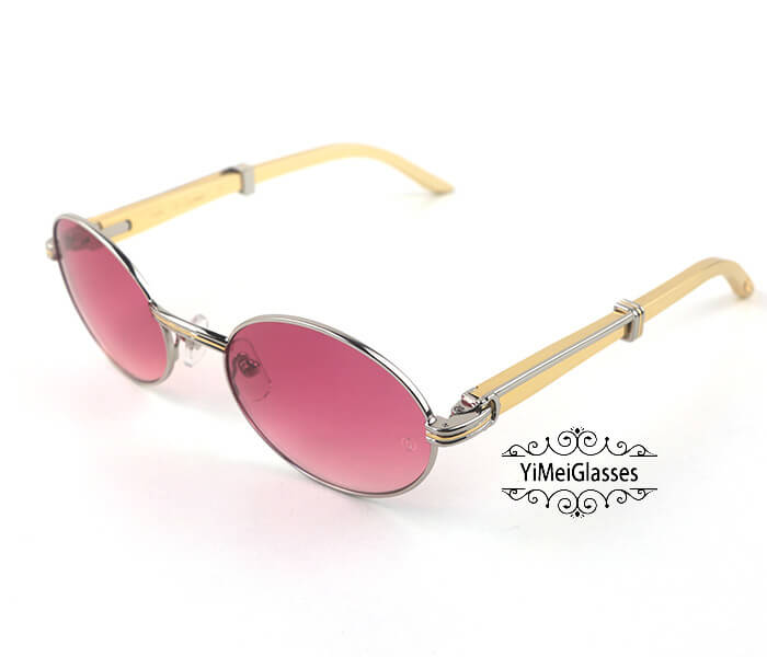 Cartier Stainless Steel Full Frame Classic Sunglasses CT7550178-55插图(34)
