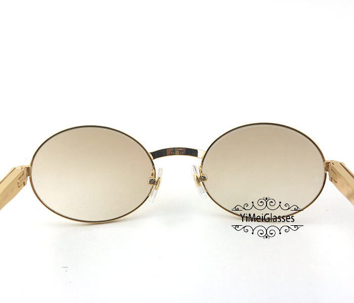 Cartier Stainless Steel Full Frame Classic Sunglasses CT7550178-55插图(6)