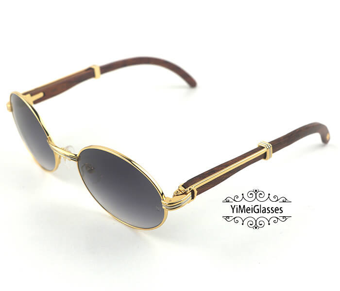 Cartier RoseWood Full Frame Classic Sunglasses CT7550178-57插图(11)