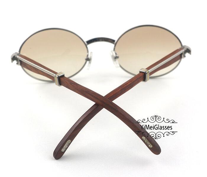 Cartier RoseWood Full Frame Classic Sunglasses CT7550178-57插图(19)