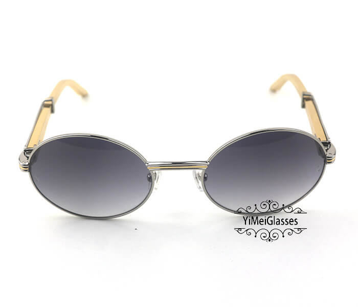 Cartier Stainless Steel Full Frame Classic Sunglasses CT7550178-57插图(13)