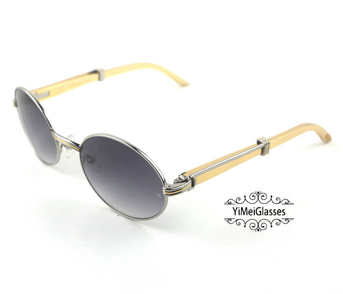 Cartier Stainless Steel Full Frame Classic Sunglasses CT7550178-57插图(14)