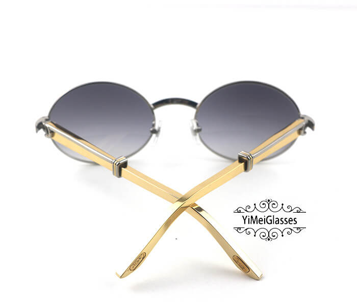 Cartier Stainless Steel Full Frame Classic Sunglasses CT7550178-57插图16