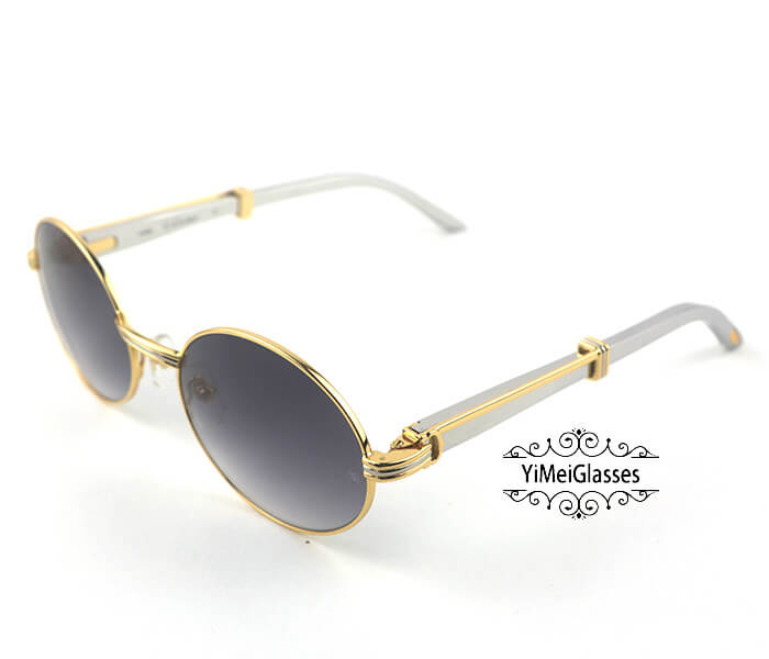 Cartier Stainless Steel Full Frame Classic Sunglasses CT7550178-57插图18