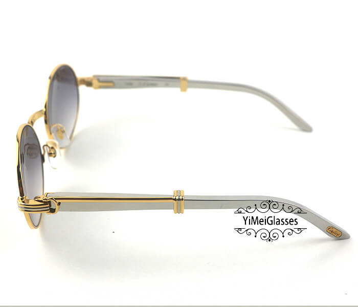 Cartier Stainless Steel Full Frame Classic Sunglasses CT7550178-57插图19