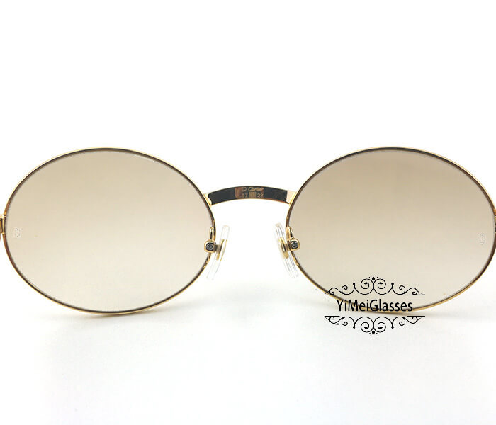 Cartier Stainless Steel Full Frame Classic Sunglasses CT7550178-57插图(6)