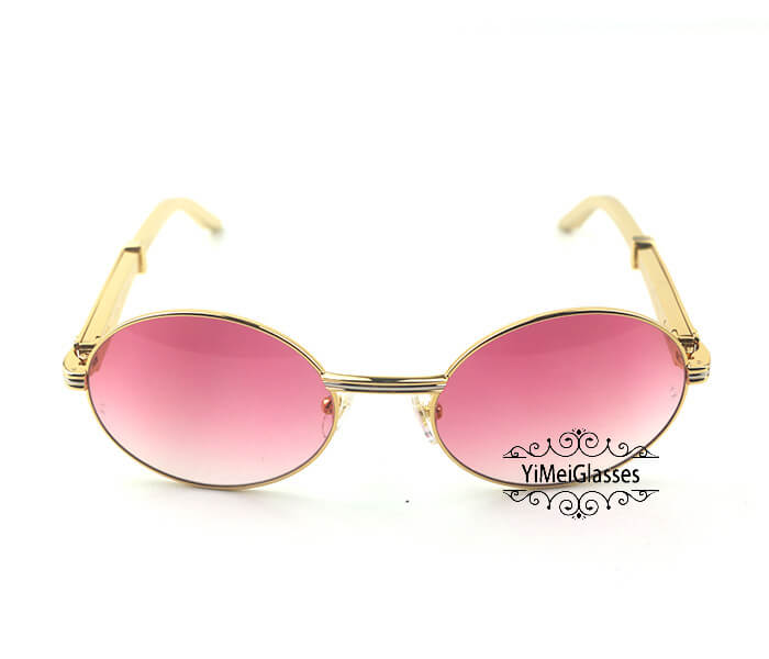 Cartier Stainless Steel Full Frame Classic Sunglasses CT7550178-57插图(7)