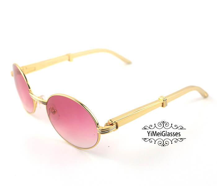 Cartier Stainless Steel Full Frame Classic Sunglasses CT7550178-57插图(8)