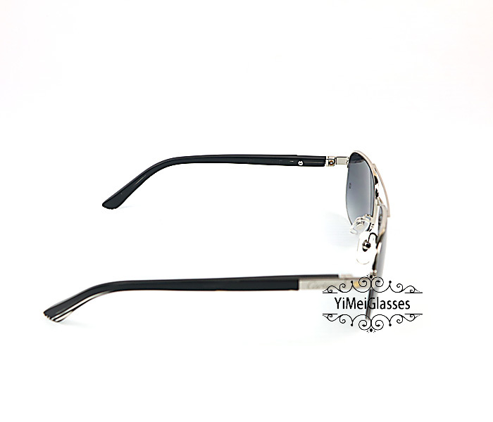 Cartier Acetate&Metal Half Frame Double Bridge Design Sunglasses CT6101002插图4