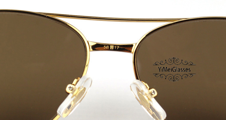 Cartier PANTHÈRE Aviators Diamond Metal Full Frame Sunglasses CT6384080插图5
