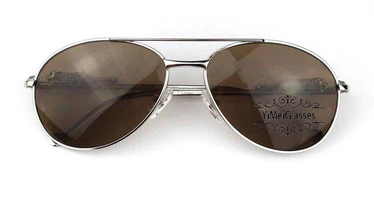 Cartier PANTHÈRE Aviators Diamond Metal Full Frame Sunglasses CT6384080插图9