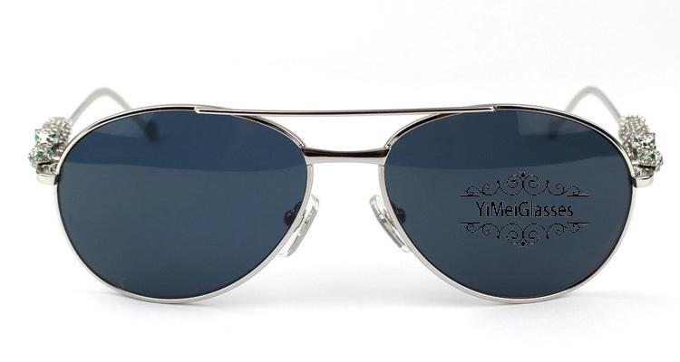 Cartier PANTHÈRE Aviators Diamond Metal Full Frame Sunglasses CT6384080插图17