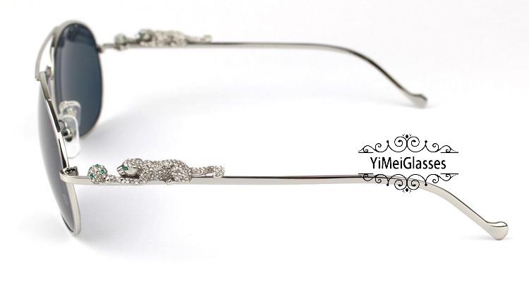 Cartier PANTHÈRE Aviators Diamond Metal Full Frame Sunglasses CT6384080插图(19)