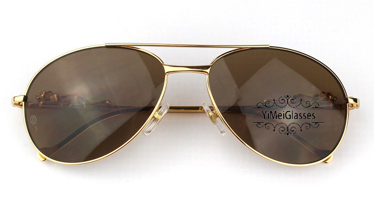 Cartier PANTHÈRE Aviators Diamond Metal Full Frame Sunglasses CT6384080插图(23)