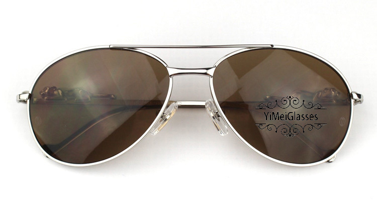 Cartier PANTHÈRE Aviators Diamond Metal Full Frame Sunglasses CT6384080插图32