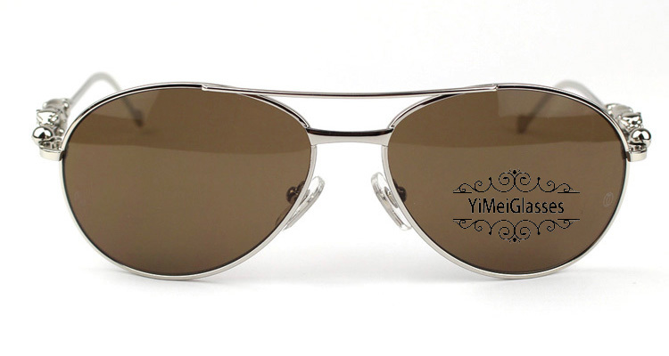 Cartier PANTHÈRE Aviators Diamond Metal Full Frame Sunglasses CT6384080插图(33)