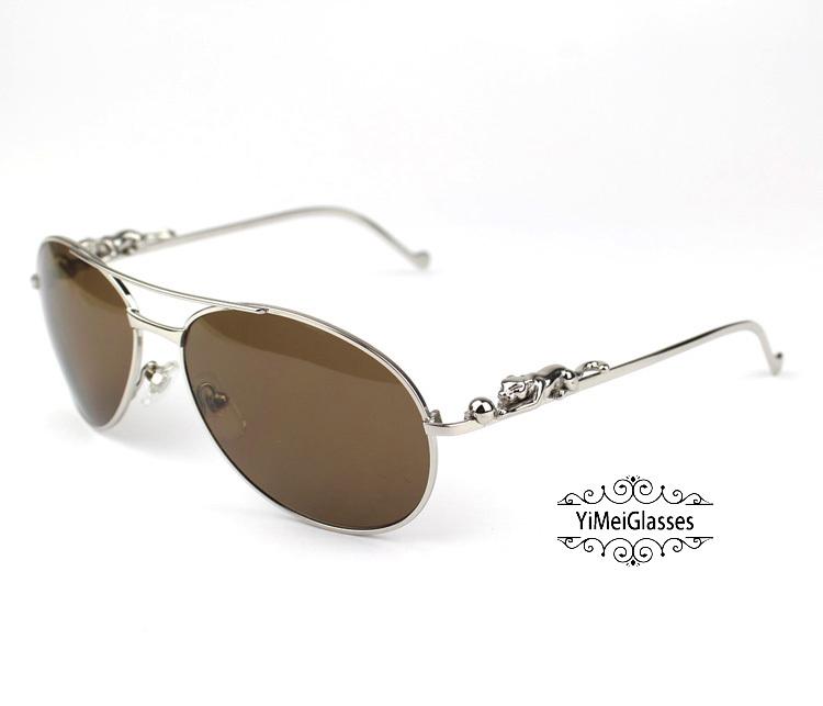 Cartier PANTHÈRE Aviators Diamond Metal Full Frame Sunglasses CT6384080插图34