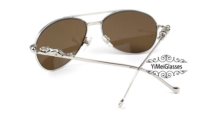 Cartier PANTHÈRE Aviators Diamond Metal Full Frame Sunglasses CT6384080插图37