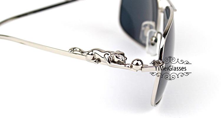 Cartier PANTHÈRE Aviators Diamond Metal Full Frame Sunglasses CT6384080插图(47)