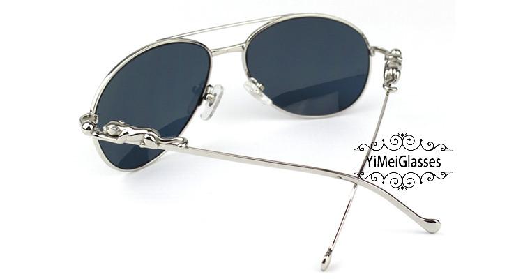 Cartier PANTHÈRE Aviators Diamond Metal Full Frame Sunglasses CT6384080插图45