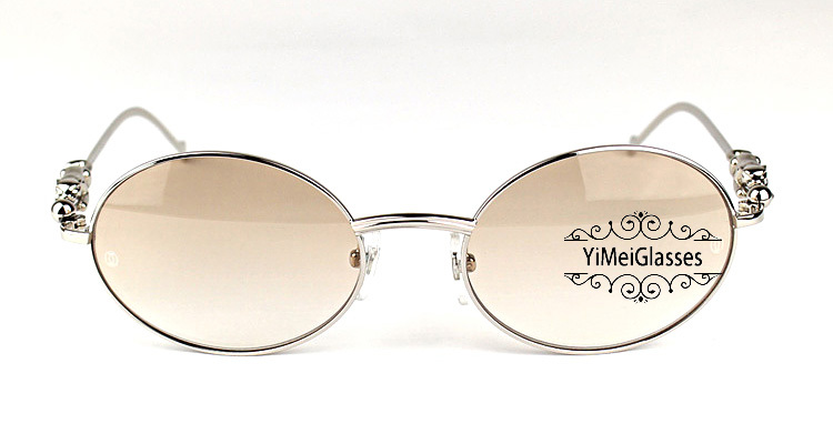 Cartier PANTHÈRE Diamond Metal Full Frame Sunglasses CT6384082插图10