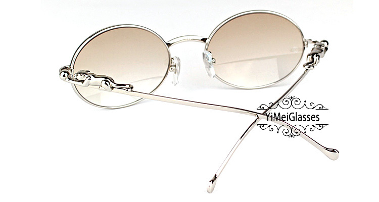 Cartier PANTHÈRE Diamond Metal Full Frame Sunglasses CT6384082插图16