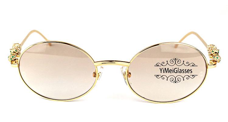 Cartier PANTHÈRE Diamond Metal Full Frame Sunglasses CT6384082插图18