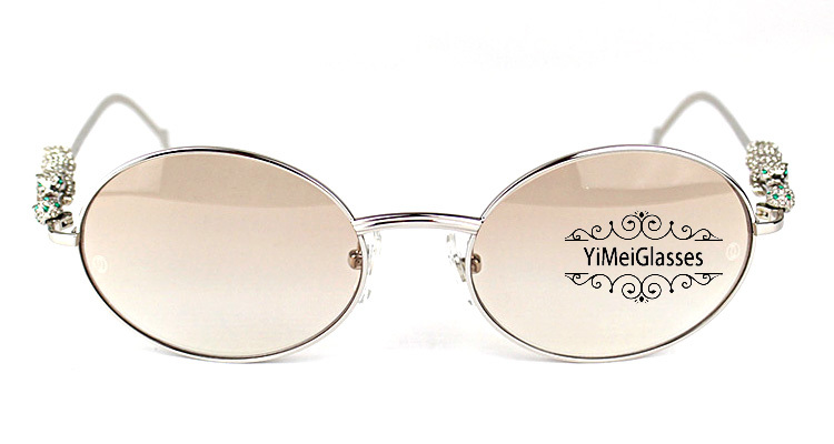 Cartier PANTHÈRE Diamond Metal Full Frame Sunglasses CT6384082插图25