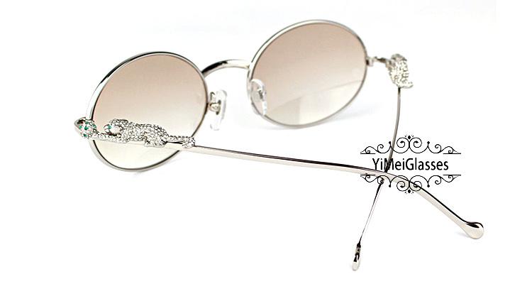 Cartier PANTHÈRE Diamond Metal Full Frame Sunglasses CT6384082插图30