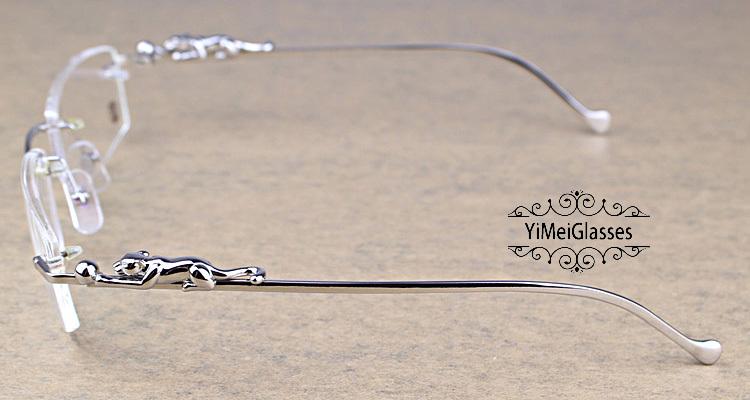Cartier PANTHÈRE Diamond Metal Rimless EyeGlasses CT6384083插图22