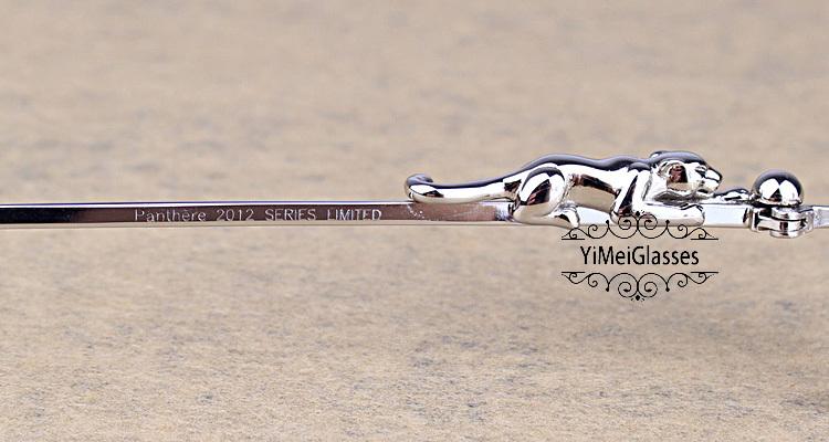 Cartier PANTHÈRE Diamond Metal Rimless EyeGlasses CT6384083插图24