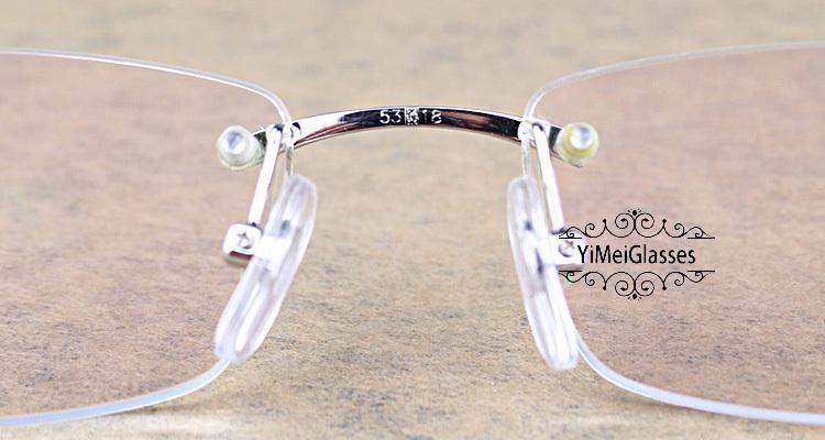 Cartier PANTHÈRE Diamond Metal Rimless EyeGlasses CT6384083插图25