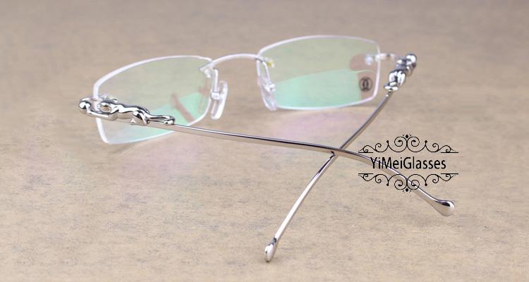 Cartier PANTHÈRE Diamond Metal Rimless EyeGlasses CT6384083插图26
